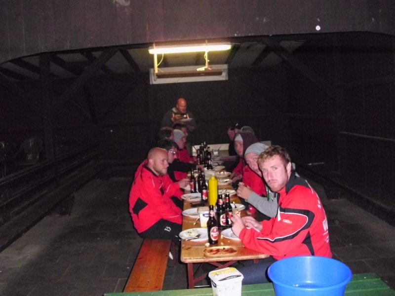 Trainingslager Urft 2012